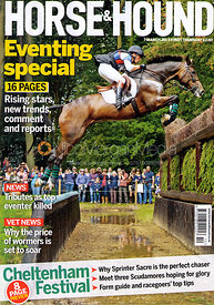 Simon Grieve and Cornacrew - Horse &amp; Hound Cover 7th March 2013