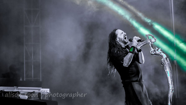 Jonathan Davis, vocals, Korn