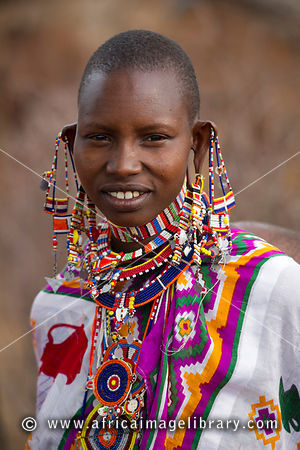 Photos And Pictures Of Maasai Woman Selenkay Conservancy