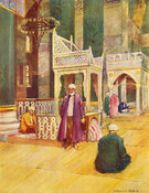 Interior of Saint Sophia by Warwick Goble
