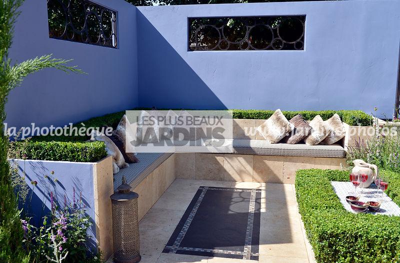 La Phototheque Les Plus Beaux Jardins Terrasse Contemporaine