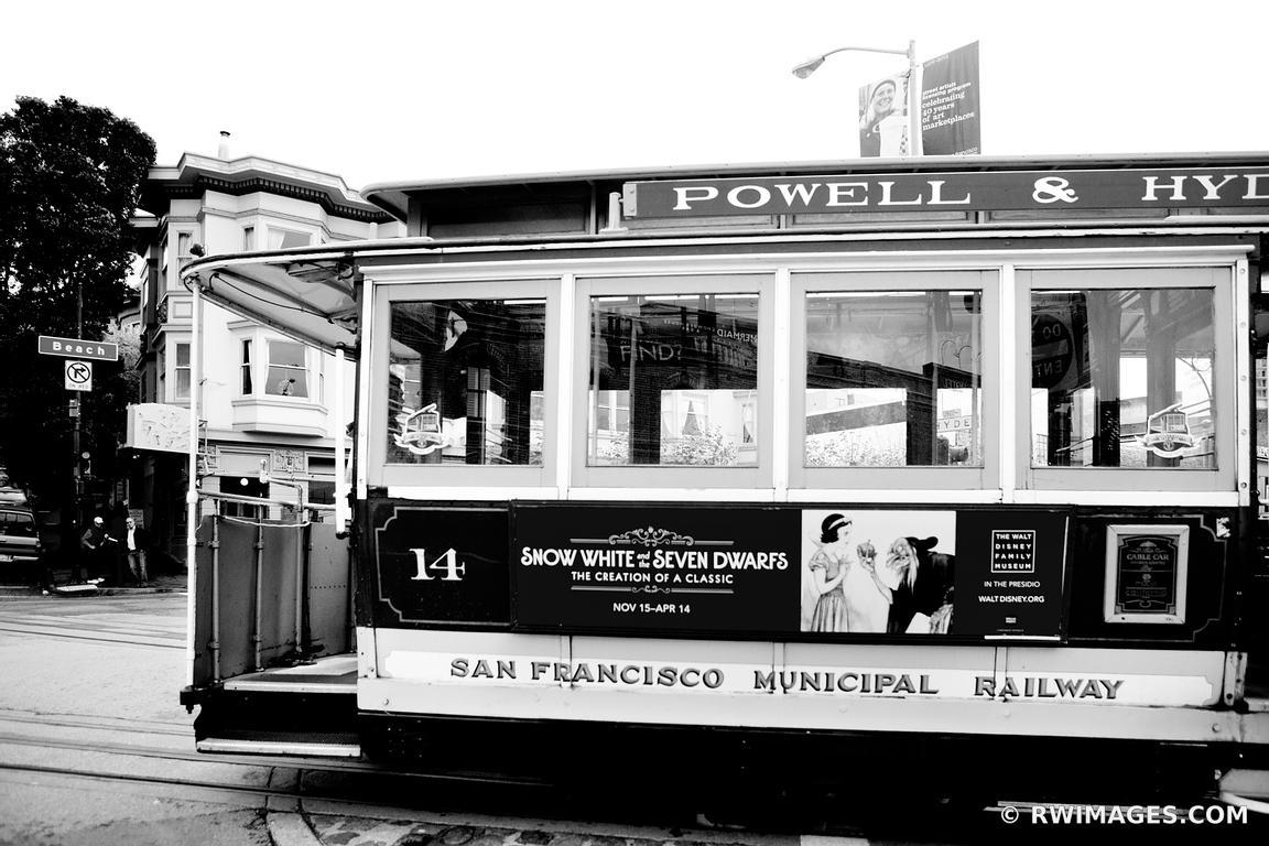 Framed Photo Print Of San Francisco Black And White Print