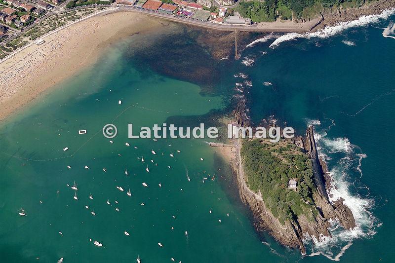 Latitude Image Isla De Santa Klara Aerial Photo