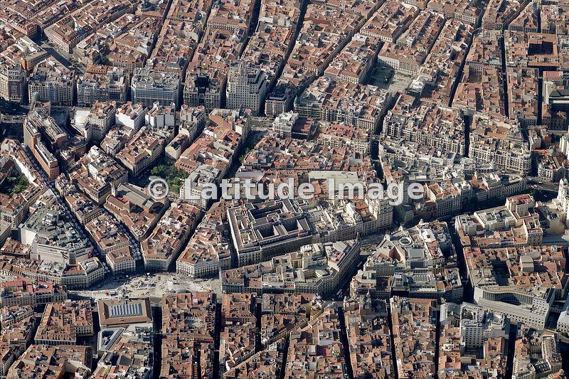 Latitude image puerta del sol madrid aerial photo - Montadores de pladur en madrid ...