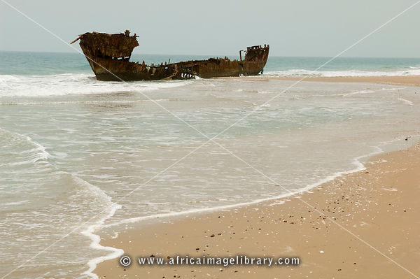 Photos And Pictures Of Shipwreck On The Beach Kafountine Casamance Senegal The Africa