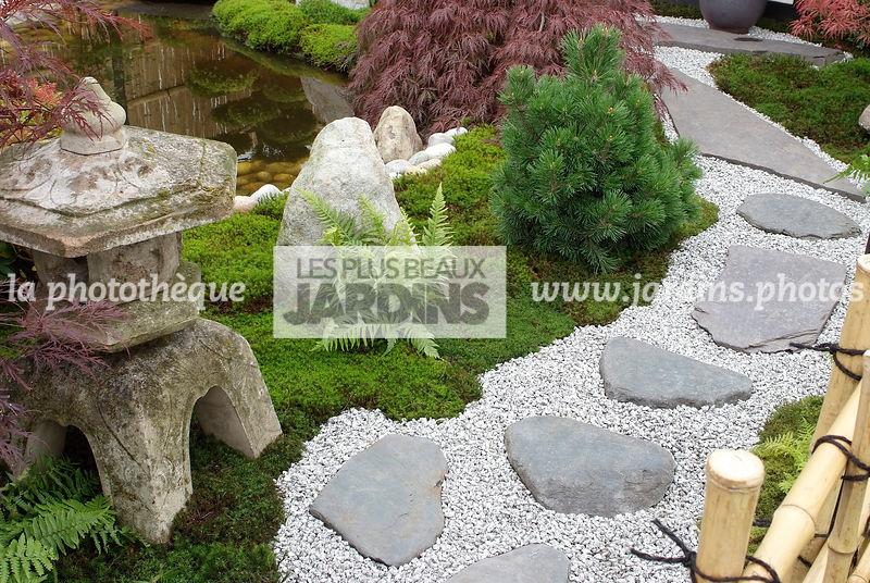 la phototh que les plus beaux jardins jardin style japonais jardin zen pas japonais. Black Bedroom Furniture Sets. Home Design Ideas