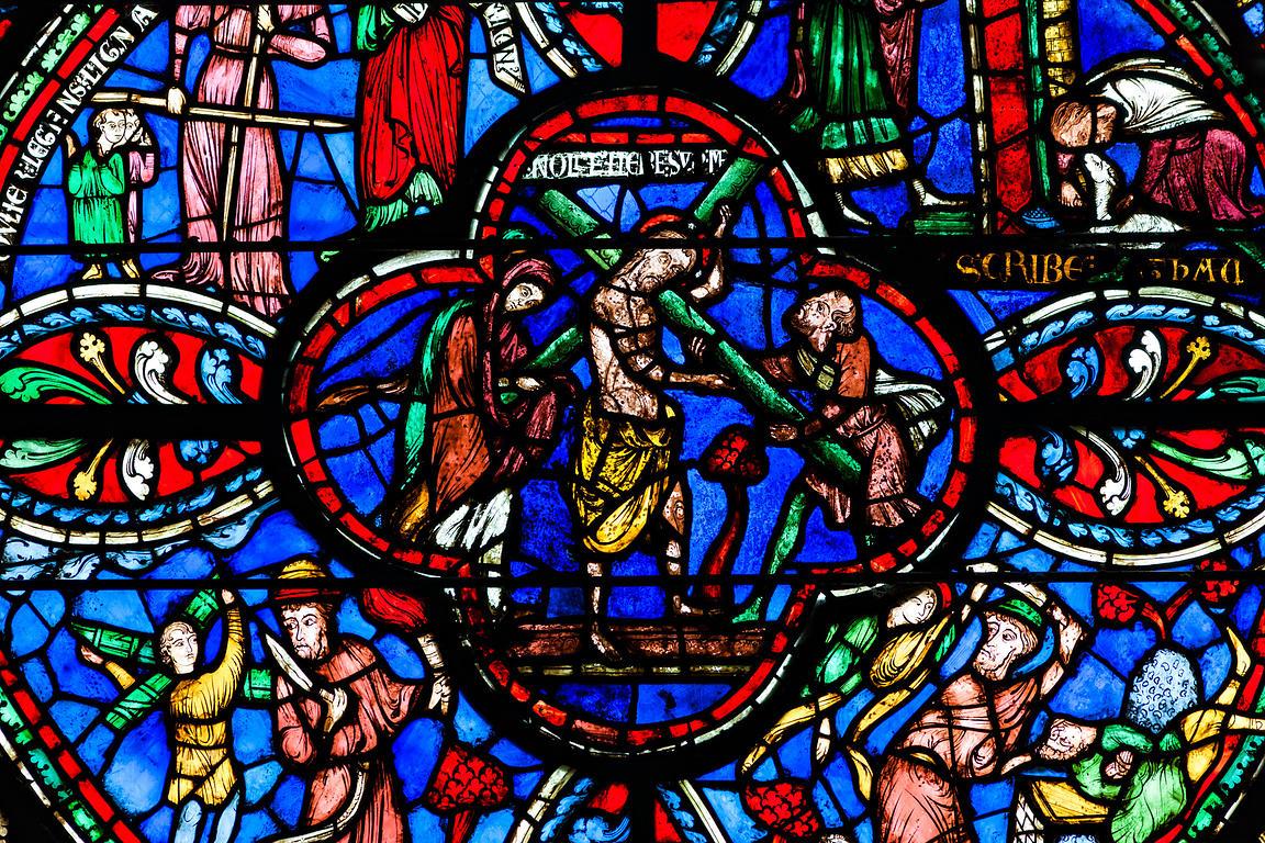 Le vitrail du bon samaritain part 1 pictures for Andrieux la maison du vitrail