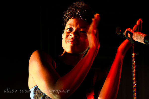 Noelle Scaggs, vocals, Fitz & The Tantrums
