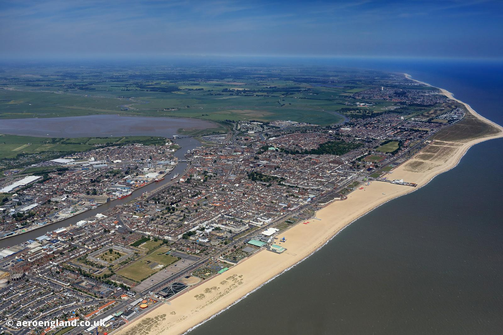 aerial photographs great yarmouth