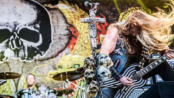 Black Label Society, at Aftershock (and this weekend, at Knotfest)… and a wall of Marshall amps