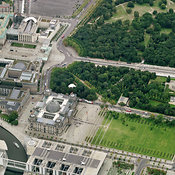 Berlin aerial photos