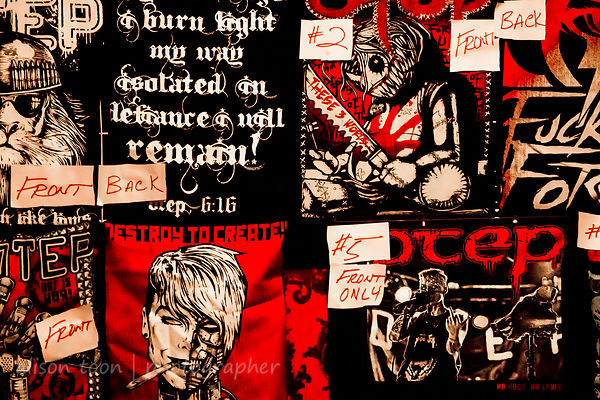 Otep's tour stop at the Boardwalk, Orangevale: Thira, Downfall 2012, Zeroclient, Cataclysmic Assault