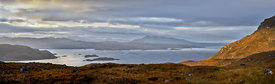 Skye from Kishorn morning panorama