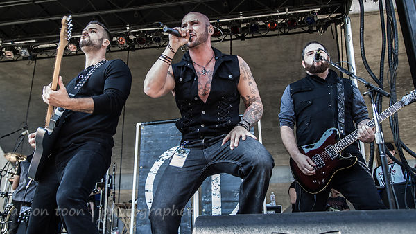 Fallrise at Aftershock 2014