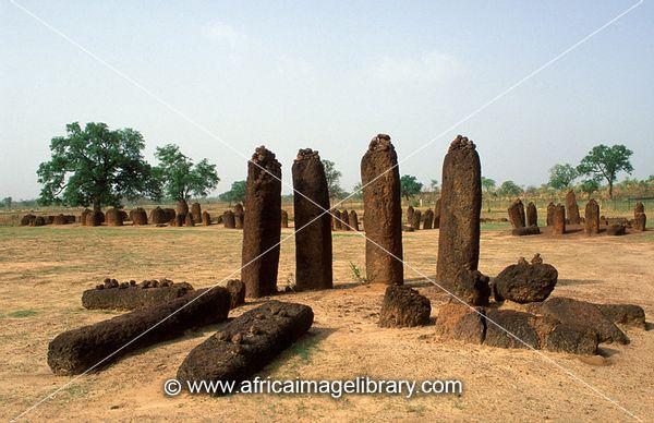 Wassu stone circles  dating back to     to      AD  Wassu  the Gambia