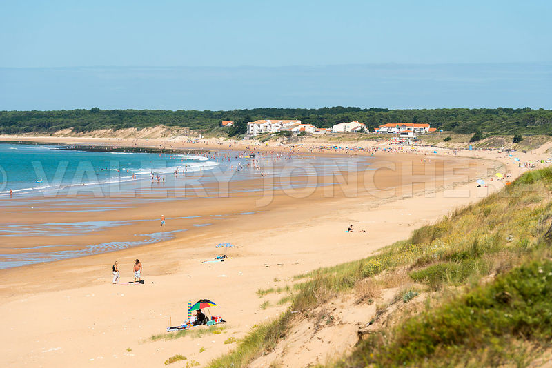 Photos photo plage des conches a longeville sur mer - Office de tourisme de longeville sur mer ...