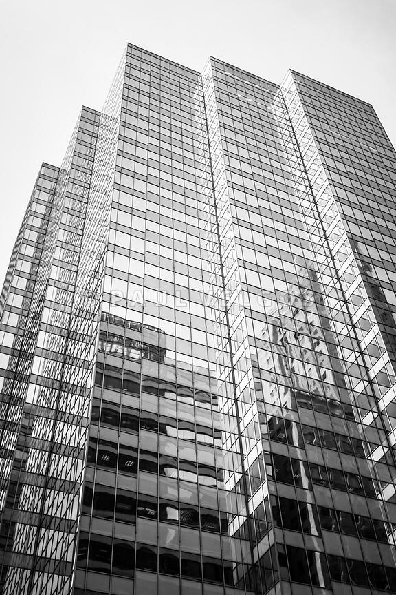 Chicago Architecture Black And White image: chicago office building black and white photo large canvas