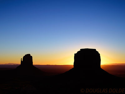 East Mitten and Merrick Butte Sunrise