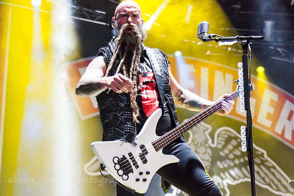 Chris Kael, bass, Five Finger Death Punch