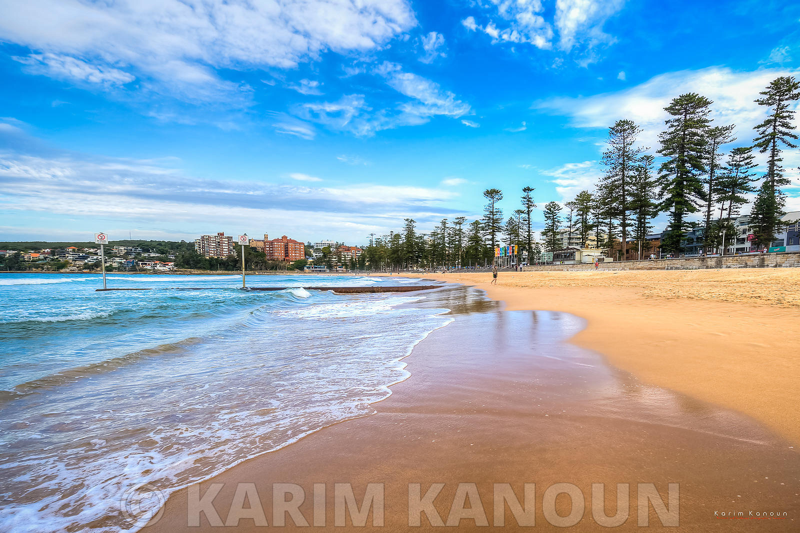 Manly sandy beach