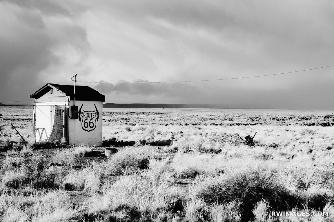 Photo print of route 66 two guns arizona black and white for Photography prints to buy