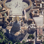 Vatican City aerial photos