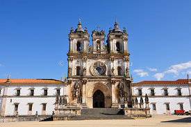 Alcobaa monastery, a UNESCO World Heritage Site. Portugal