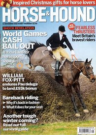 Horse &amp; Hound cover photography, 11th May 2010.