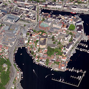 City center, Arendal