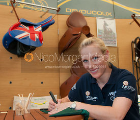 Zara Phillips at Devoucoux, Badminton Horse Trials 2011.