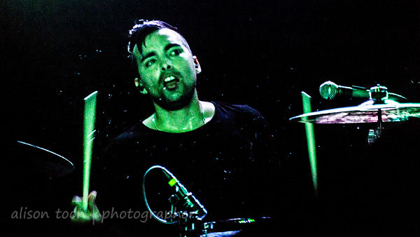 Bobby Amaro, drums, Orgy