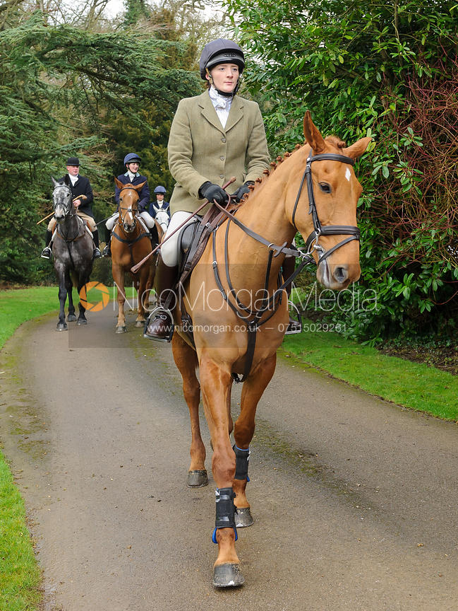 Image Jodie Parr Arriving At The Meet The Cottesmore