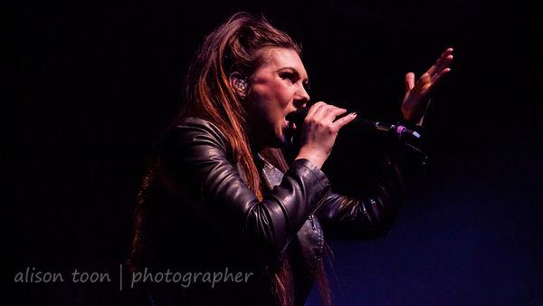 Elize, vocals, Amaranthe
