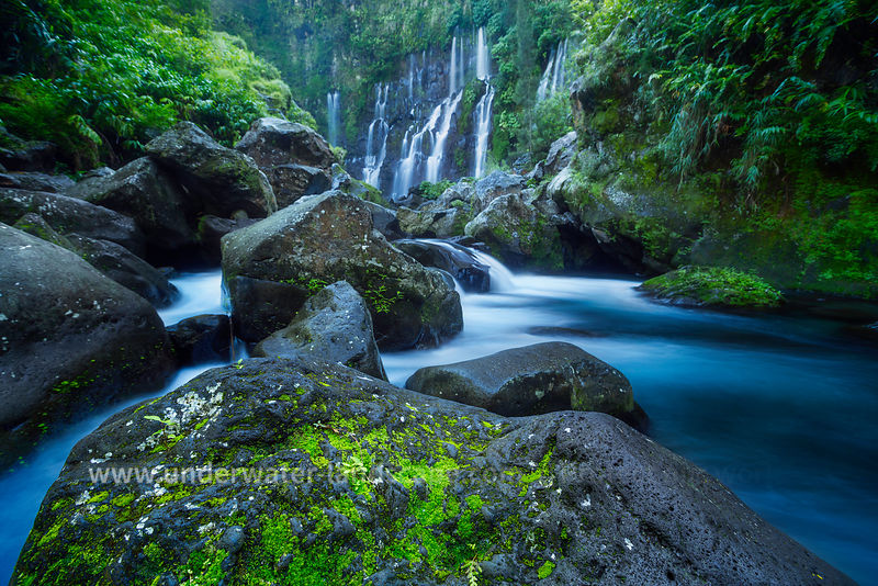 picture of the reunion island-Gabriel Barathieu - Grand Galet waterfalls