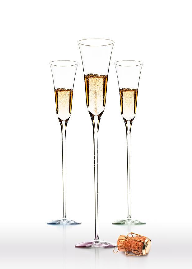 Cartes de voeux 2018 entreprise originales apparence images 2018 3 fl tes de champagne et - Flutes a champagne originales ...