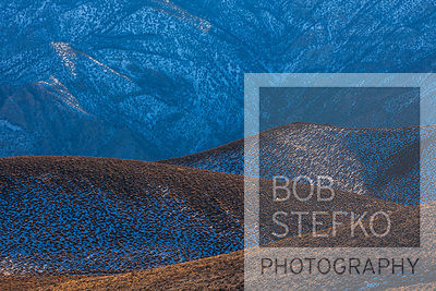 Aguereberry Point with evening light, Death Valley National Park, California, USA