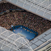 Sports Venues In Melbourne aerial photos