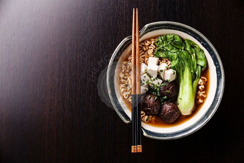 The Picture Pantry Food Stock Photo Library   Miso Ramen ...