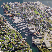 Haugesund aerial photos