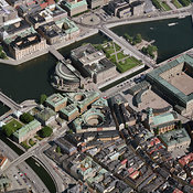 Sweden aerial photos