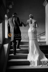 Wedding Photography - Becca and Ben - Barrowby Church and Harlaxton Manor
