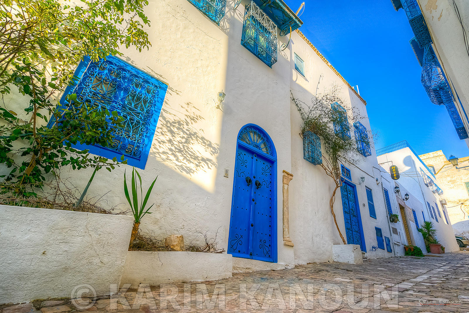 The white and blue village of Sidi Bou Said