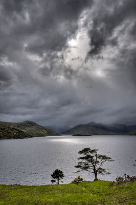 Clouds over Loch Quoich