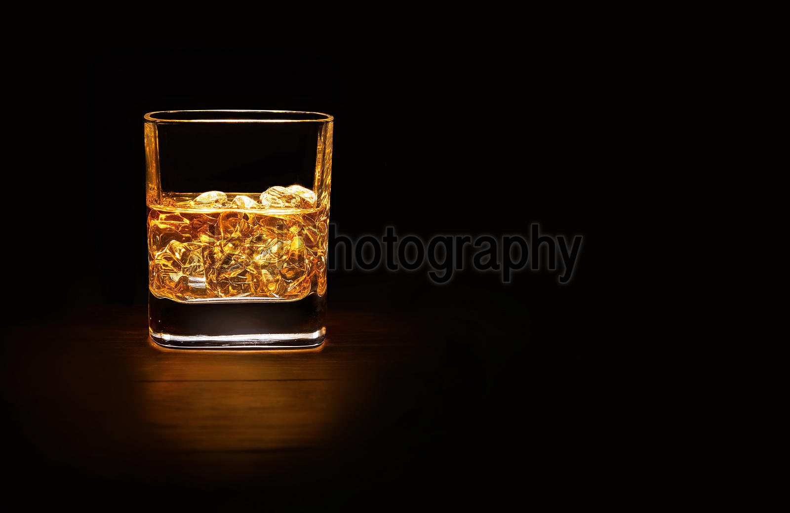Tumbler of single malt whisky