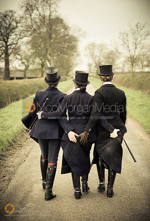 Side saddle ladies for The Field Magazine