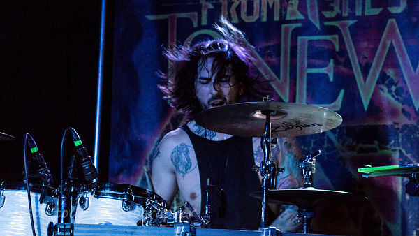 Tim D'onofrio, drummer, From Ashes To New