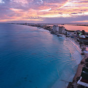 Punta Cancún aerial photos