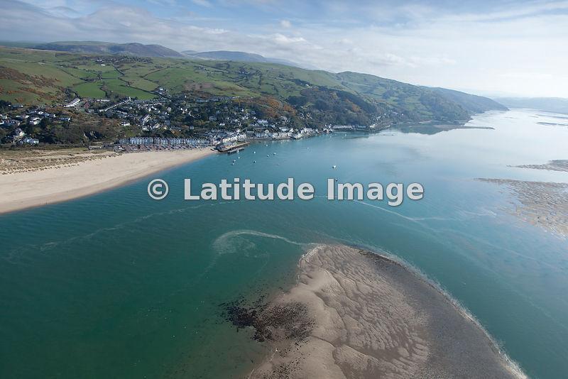 Latitude Image Aberdovey Wales Aerial Photo