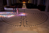 Light Skipping the Labyrinth