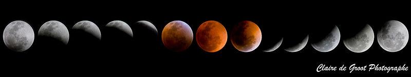éclipse de la lune
